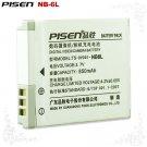 Canon 900 850 PowerShot ELPH 500 HS NB-6L Pisen Camera Battery Free Shipping