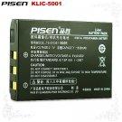 Sanyo Xacti VPC-HD2000ABK KLIC-5001 Pisen Camera Battery Free Shipping