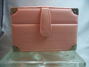 Erin Fetherston Pink Train Case style Makeup or Jewelry box