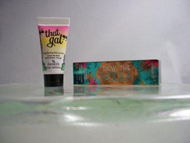 Benefit Duo Dew The Hoola Liquid Bronzer plus That Gal Primer both travel size