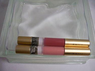 Mally Beauty Duo High Shine Liquid Lipsticks  in Delish & Mally's Look