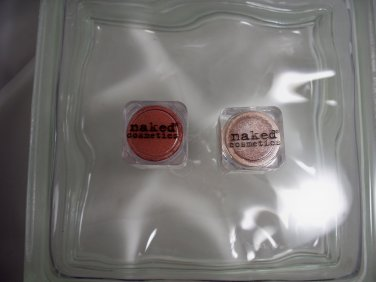 Naked Cosmetics Professional Makeup Duo Shadows Sierra Nevada 02 &  04 Copper