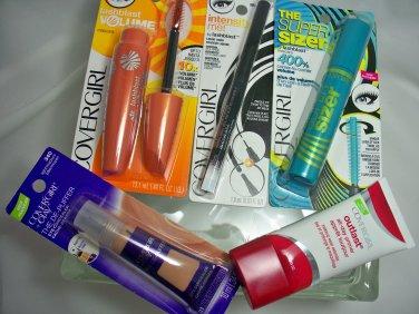 Covergirl pcs Primer & Super Sizer & Lashblast Mascara & Concealer & Eyeliner
