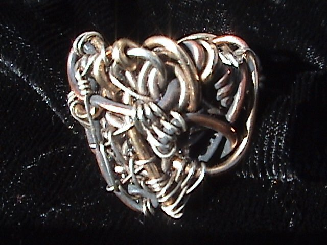 Shield of Trinity - Sterling Silver and Gold Ring