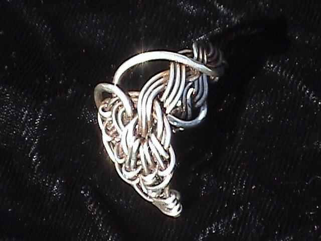 Virtue - Sterling Silver Ring