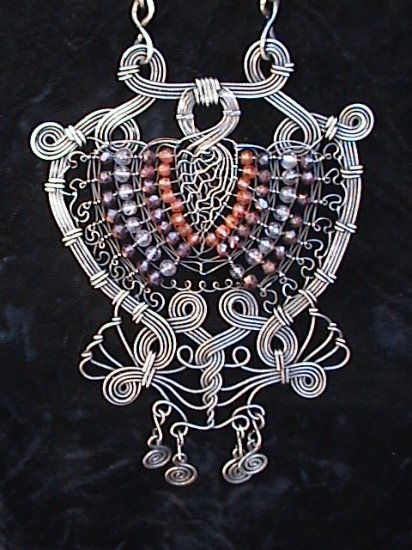 "Dream Weavers Amulet  with 21"" Chain"