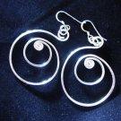Fashion earrings Hill tribe Genuine silver thai karen tribal New wire ER184