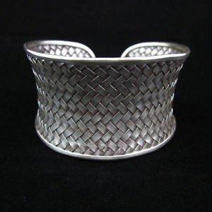 Fashion silver Bracelets Thai Hilltribe Silber ARMREIF Argento Braccialetto BA06