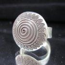Fashion Silver Ring Spirale Fancy Designer HALO Anello Gümüş yüzükler خواتم R57