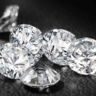 Round 1 mm. - 5 mm. White Cubic Zirconia Stone AAA Grade CZ Wholesale