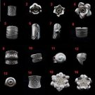 Fine Fashion silver Rings Anello Argento Hill tribe Tribal Band Vintage BOHO