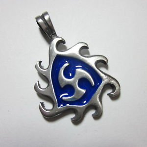 Fashion Men Jewelry Pendants Ciondolo Anhänger Pewter Gothic Emblem Collect PC16