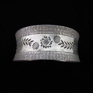 Fine Fashion Bracelet Thai Silver Band Armreif bilezik brazalete Hill Tribe B17