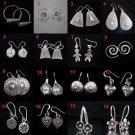 Fiine Fashion Silver Earrings Ohrringe Hill tribe Karen tribal BOHO Schmuck 7379