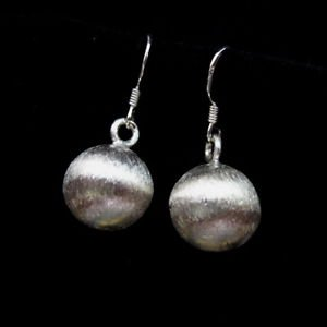 Fine Fashion Silver Earrings Ohrringe Tribal translucent ball drop dangle ER171