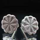 Fine Fashion Earrings Silver STUD X3 Design Round Ohrringe Schmuck Argento ER180