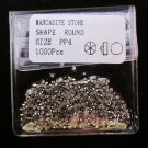 MARCASITE STONES 1000pcs SIZE 1mm PP4 loose Beads Findings Gems Round Premium