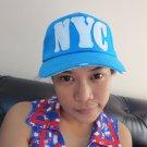 Fashion Unisex Caps women Sport Golf Hipster PUNK NYC Blue Hats Snapback CS016