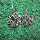Thai Hill Tribe Earrings Fine Silver Fashions Dangle Mandara Celtic CS612593111