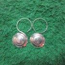 Thai Hill Tribe Earrings Fine Silver Fashions Dangle Spiral plain CS9125911