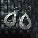 Fine Silver Earrings Hill tribe Karen Tribal Ohrringe Fashion Drop Dangle CS2812