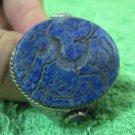 Islamic Rings 925 Sterling Silver Handmade Lapis mens Guardian engraved 44602