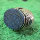 Islamic Rings 925 Sterling Silver Handmade Lapis mens Prophet engraved 44603