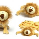 Zoobie Pets Lion-Pillow-Blanket-Plush Toy