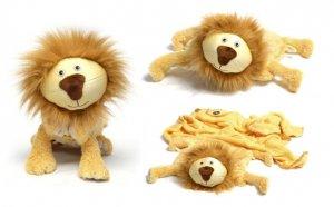 Zoobie Pets Lion-Pillow-Blanket-Plush Toy