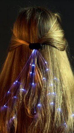 Fiber Optic Hair Lights-Color Changing Hair Accessory