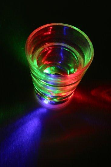 LED Light Up Shot Glass