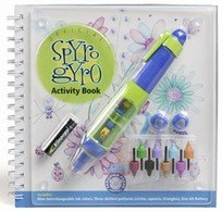 Spyro Gyro Activity Book And Pen-Learn To Draw in 3D