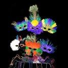 Mardi Gras Package Masks & Beads