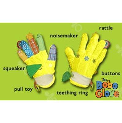 Yellow BoBo Glove Baby Toy-Interactive & Sensory-Stimulating