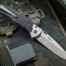 "Russian Tactical Folding knife ""Prime"" Carbon Kizlyar Supreme knive (steel-D2)"