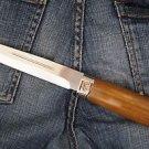 "Zlatoust Russian Hunting knife ""Fox""+ sheath (Steel-U10M, Wood handle)"