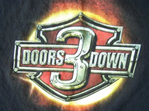 3 Doors Down 'The Road I'm On' Tour 2003 T-Shirt