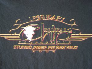 Legendary Buffalo Chip CampGround Sturgis Rider Rendezvous 2004 T-Shirt