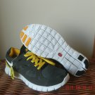 Nike Free Run 2 Grey-Green / Dark Grey / Yellow Size 11 US 45 EU