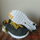 Nike Free Run 2 Grey-Green / Dark Grey / Yellow Size 11 US 45 EU