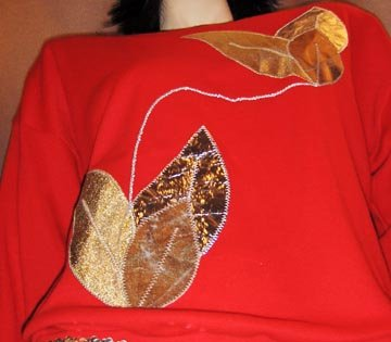 SILVER & GOLD Red SPACE AGE Top 80s Party Time L.