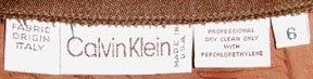 RARE Vintage 70s Designer CALVIN KLEIN High Waisted Pencil Skirt Size 6