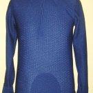Vintage 70s OLEG CASSINI Mens Suave Macho Man Designer Shirt S/M