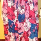 PRINCESS OF MOD Psychedelic Floral Pleated 70s Skirt S/M groovy vintage