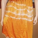 60s Hippie Girl Vintage Tie Dye Psychedelic Slip Skirt