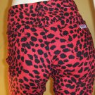 MEOW Sexy CATGIRL 80s Leopard Print NY HIPSTER Skinny Rocker Chic Jeans S/XS