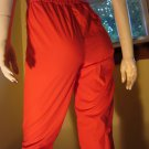 Vintage 80s Cherry Red High Waisted Skinny Pinup Pants Sz. 5/6