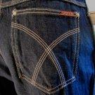 RARE Vintage CLASSIC DISCO Designer High Waisted Blue Jeans SASSON Sz 34/32 Unisex 70s 80s