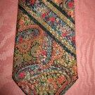 Men's Vintage Swanky Psychedelic 60s 70s Paisley Print Neck Tie