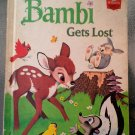 Walt Disney's Bambi Gets Lost HC Vintage Children's Book 1972